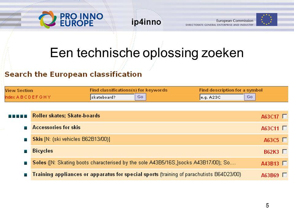ip4inno 5 Een technische oplossing zoeken