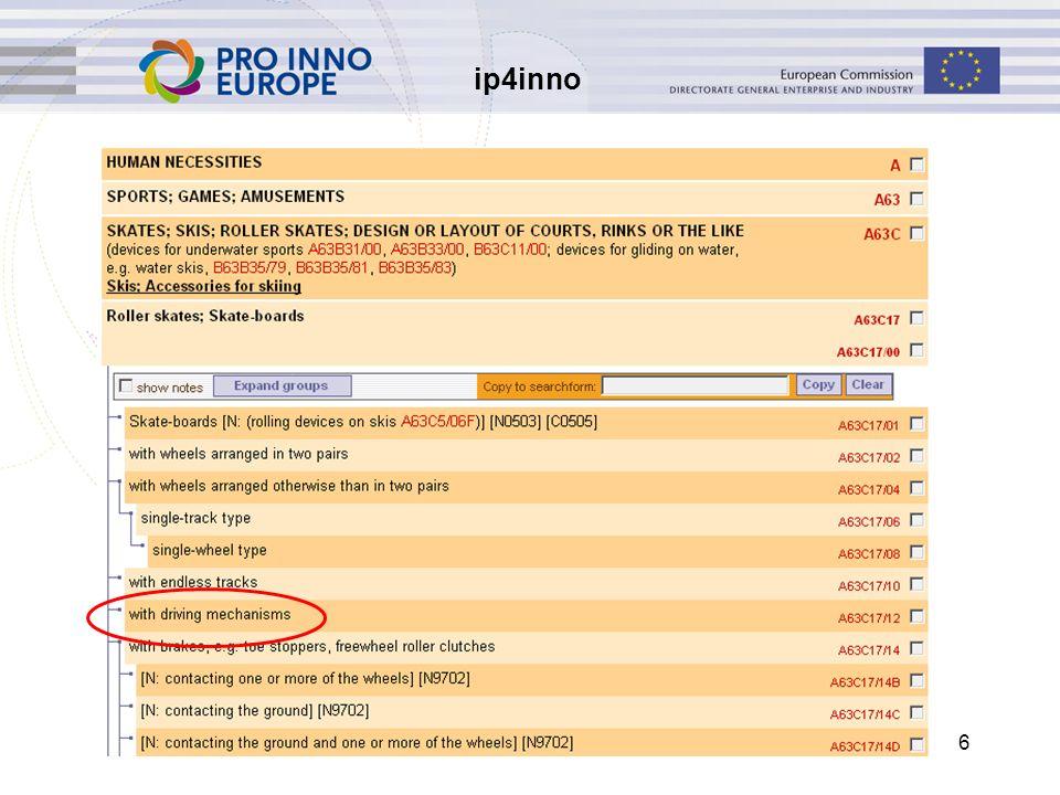 ip4inno 6 Een technische oplossing zoeken