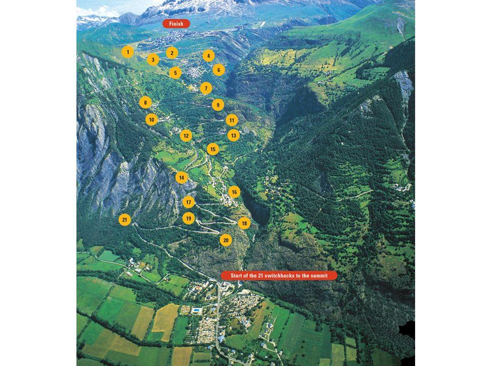 21 bochten21 bochten Grote trekpleister voor wielertoeristenGrote trekpleister voor wielertoeristen Alpe d'HuZes: legendarische berg OPGEVEN IS GEEN OPTIE!