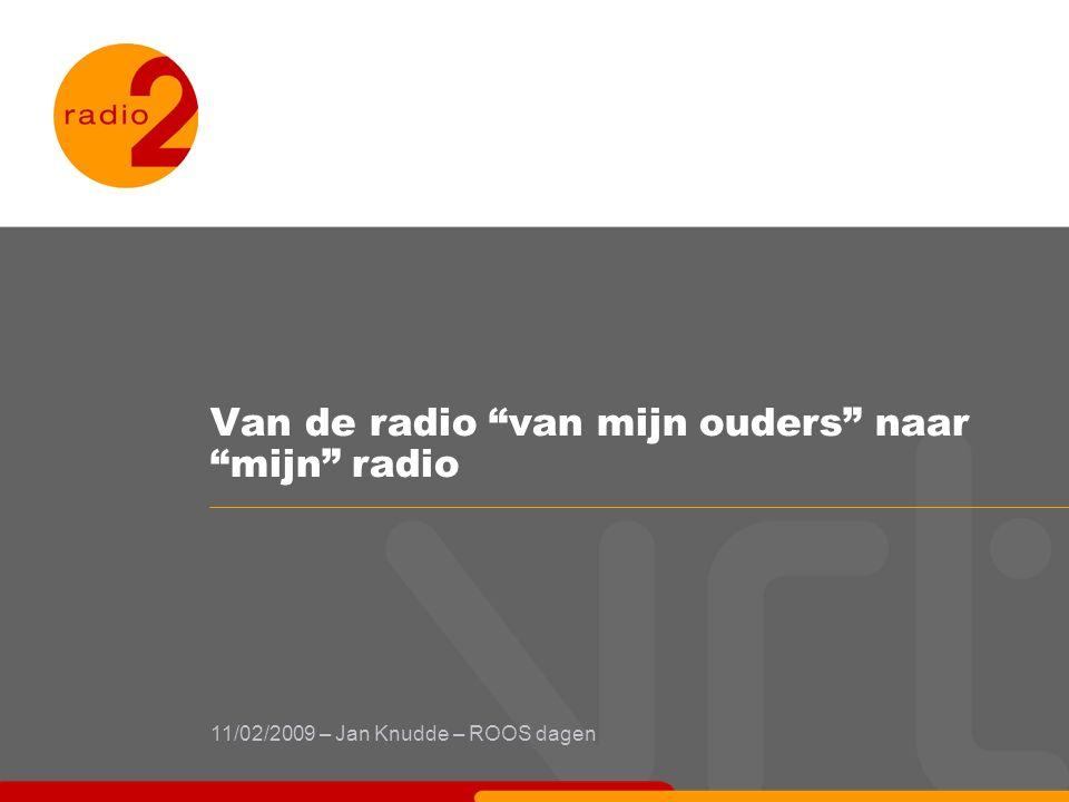 Van de radio van mijn ouders naar mijn radio 11/02/2009 – Jan Knudde – ROOS dagen