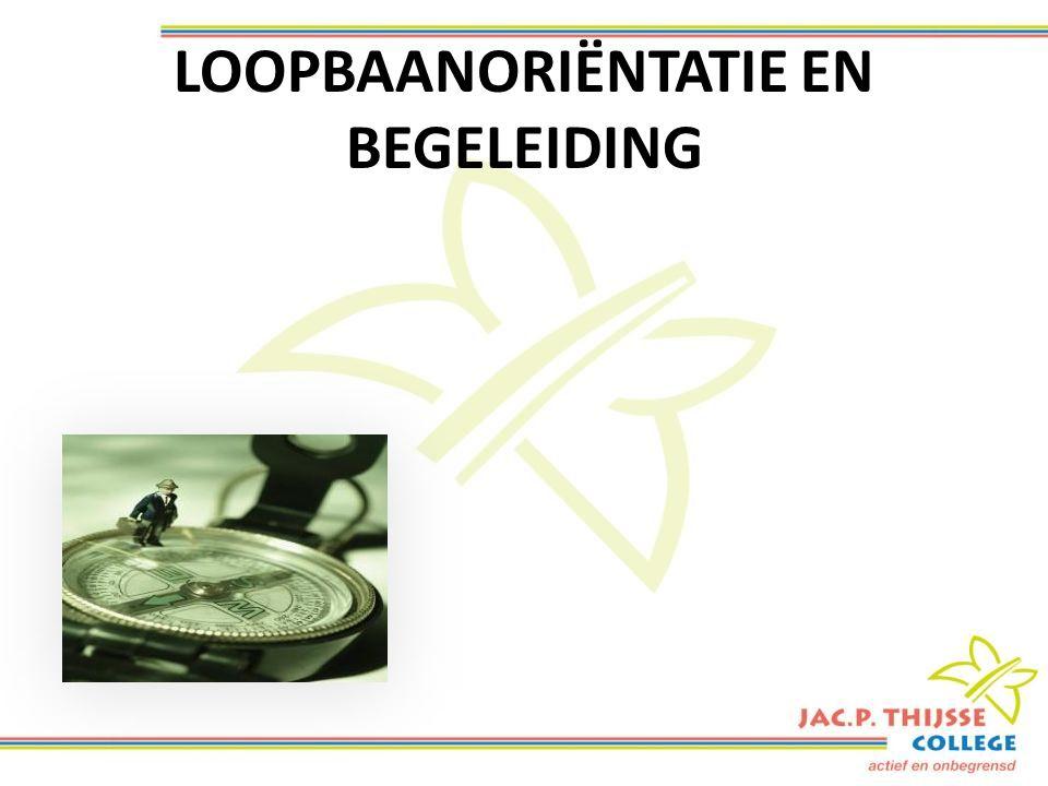 LOOPBAANORIËNTATIE EN BEGELEIDING