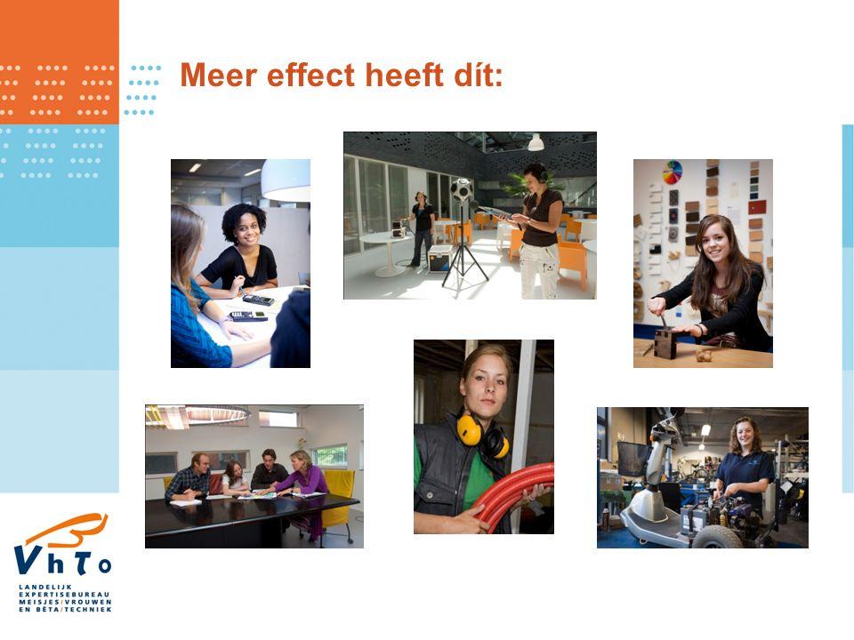 Meer effect heeft dít: