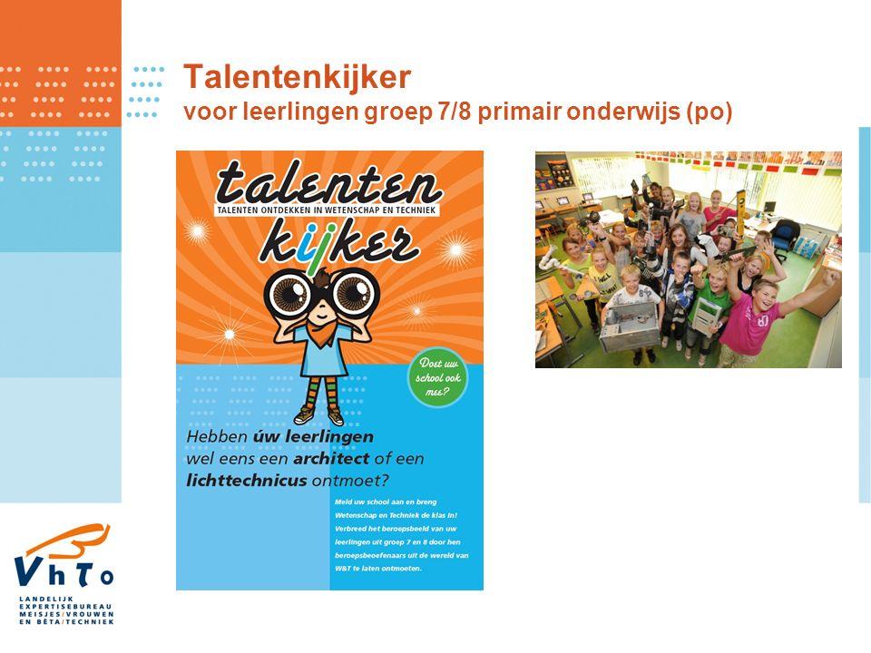 Talentenkijker voor leerlingen groep 7/8 primair onderwijs (po)