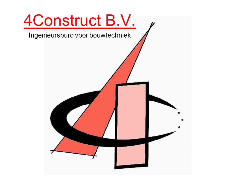 4Construct B.V. Ingenieursburo voor bouwtechniek