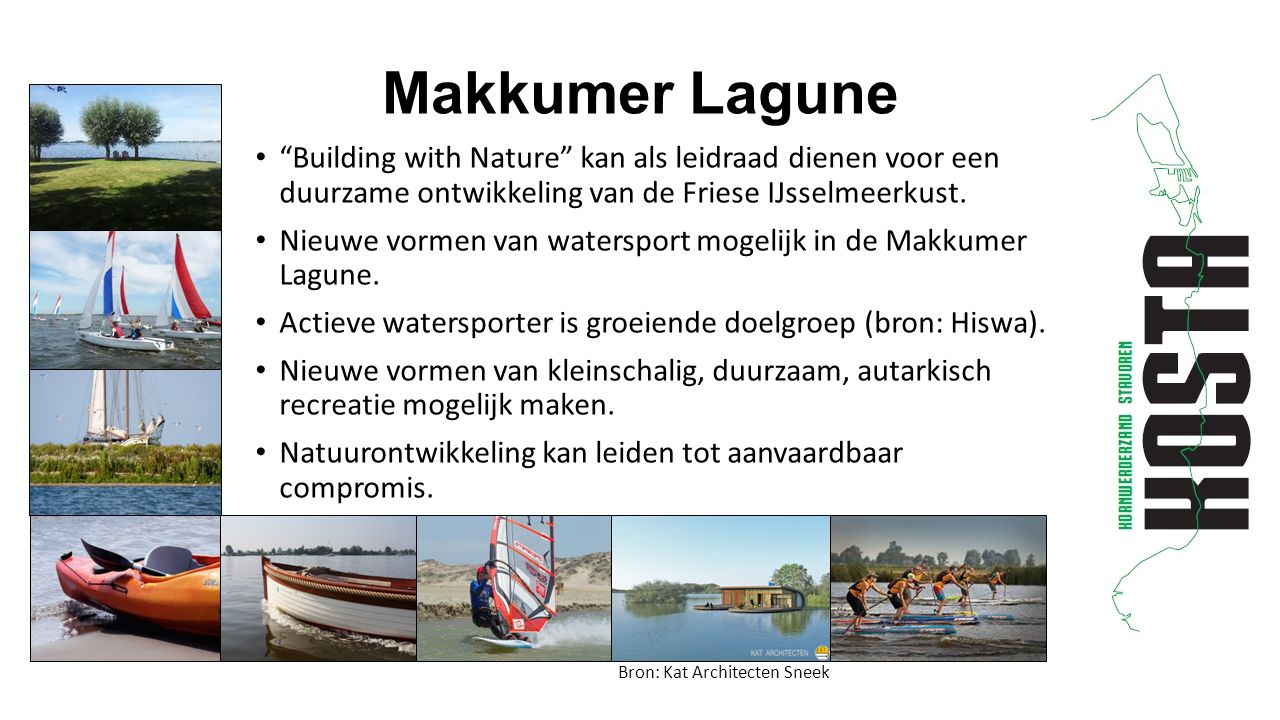 Building with Nature kan als leidraad dienen voor een duurzame ontwikkeling van de Friese IJsselmeerkust.