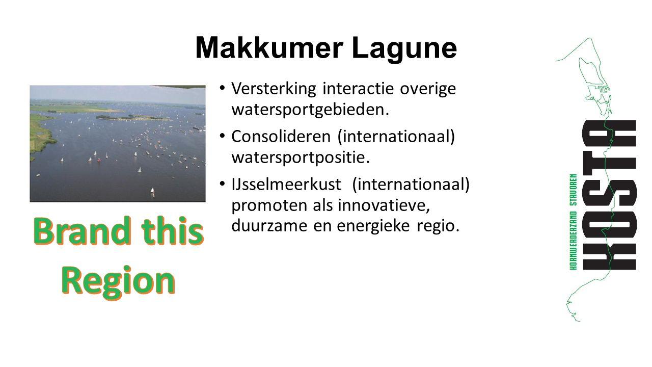 Versterking interactie overige watersportgebieden.