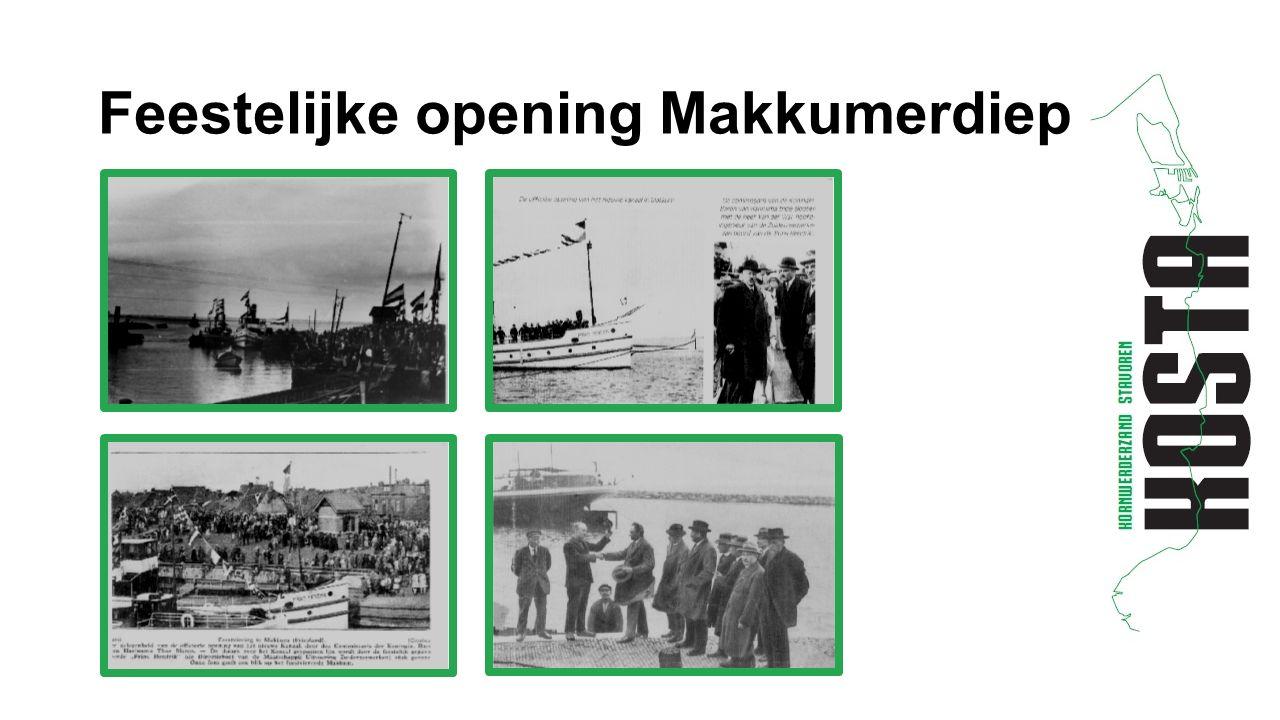 Feestelijke opening Makkumerdiep