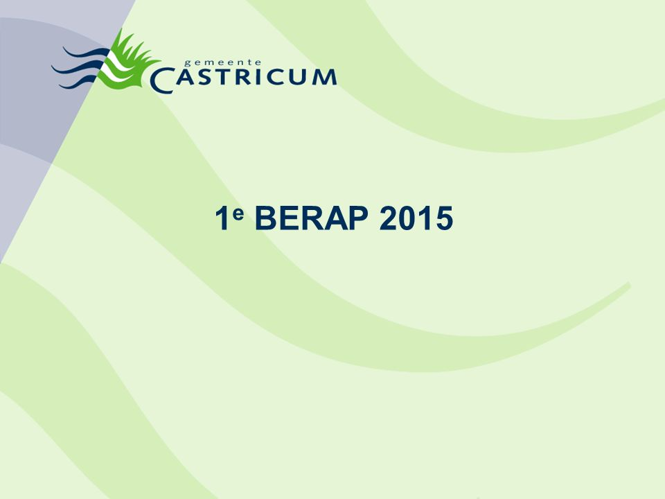 1 e BERAP 2015