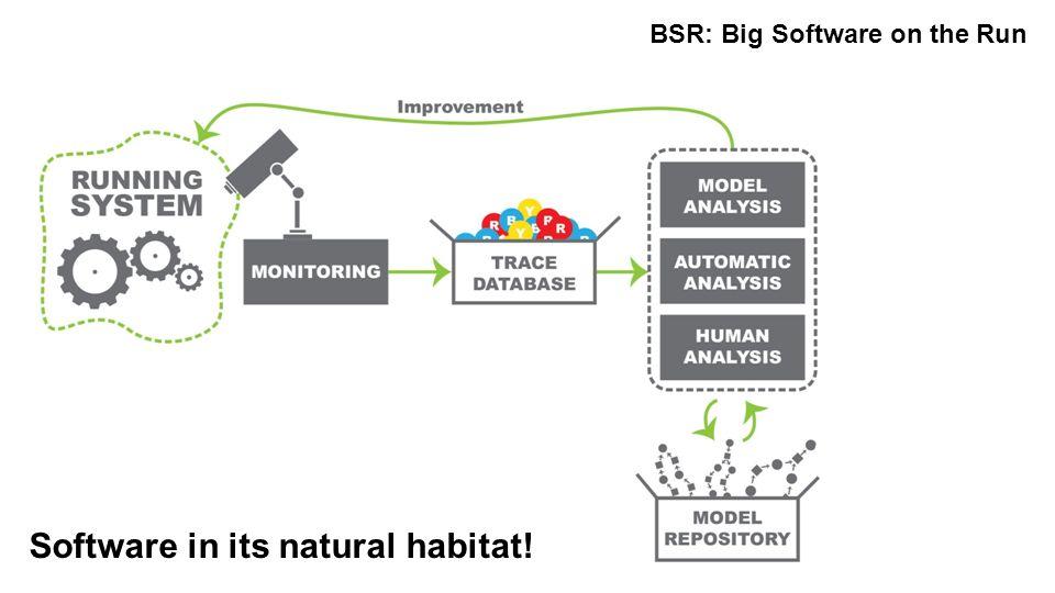 Software in its natural habitat!
