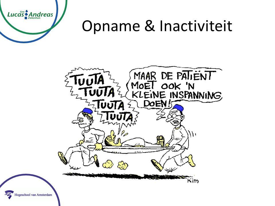 Opname & Inactiviteit