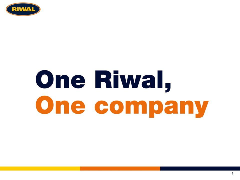 Strategische componenten Wat bouwen we op.Waarom bestaat Riwal.