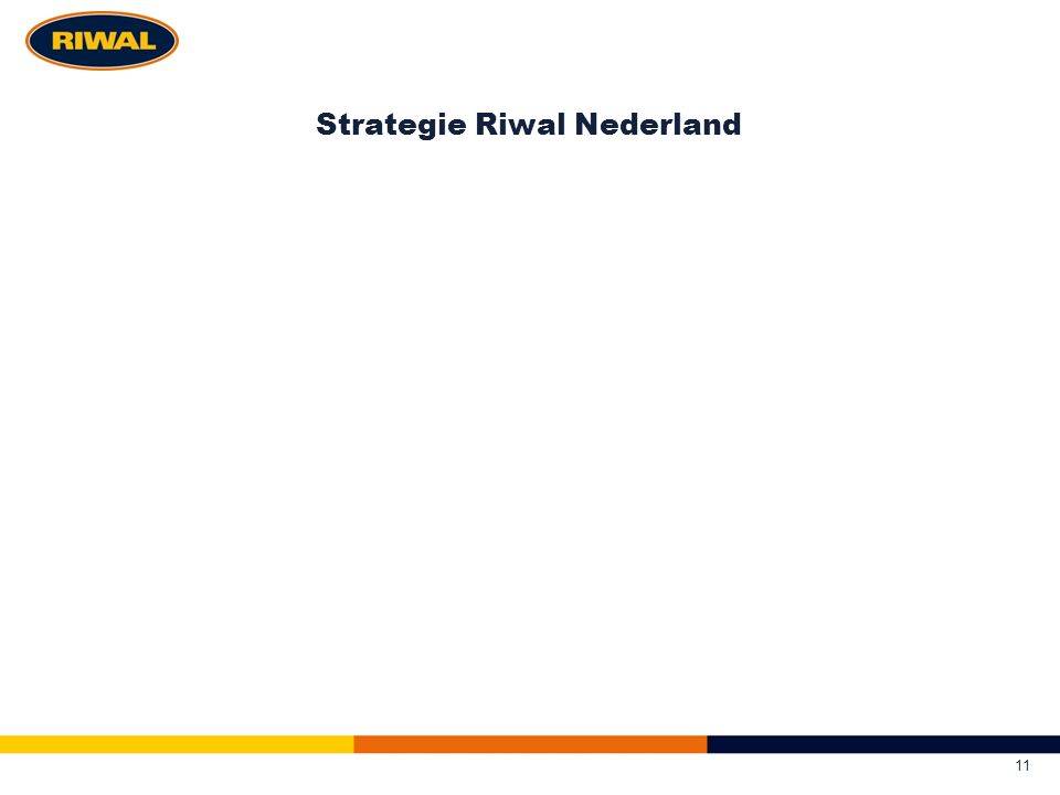 Strategie Riwal Nederland 11