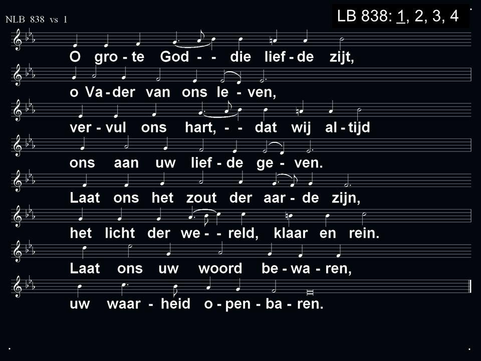... LB 838: 1, 2, 3, 4