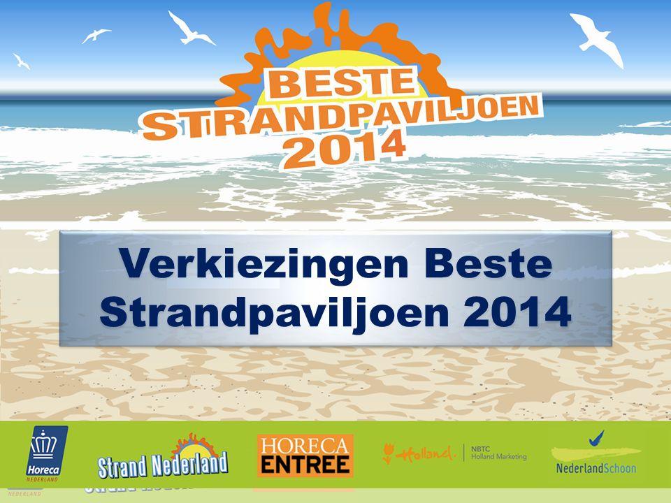 Verkiezingen Beste Strandpaviljoen 2014