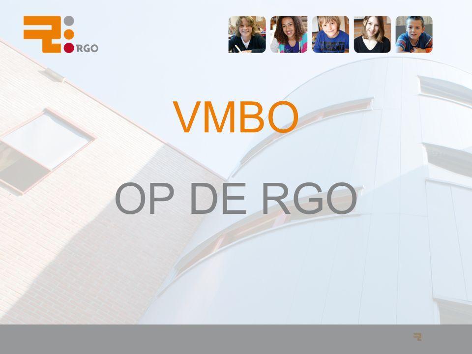 VMBO OP DE RGO