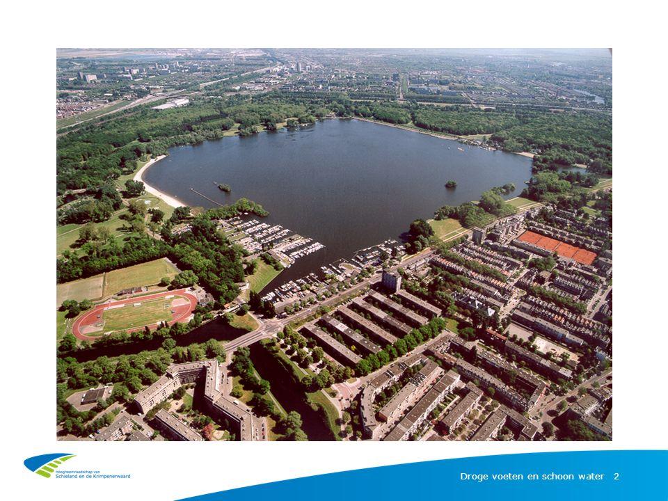 Kralingse Bos en Plas Droge voeten en schoon water | 3 -Grootste stadspark van Rotterdam -250 ha groot, 100 ha water -3 miljoen bezoekers per jaar, beste openbare ruimte van NL -Plaats voor ontspanning en rust -Longen van de stad, draagt bij aan een leefbare stad -Eigendom van de gemeente Rotterdam