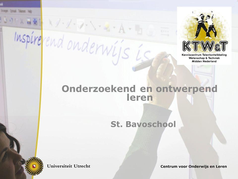 Onderzoekend en ontwerpend leren St. Bavoschool