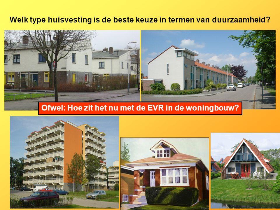 Welk type huisvesting is de beste keuze in termen van duurzaamheid.