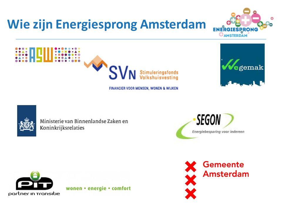 Wie zijn Energiesprong Amsterdam