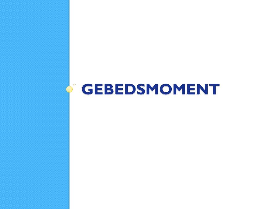 GEBEDSMOMENT