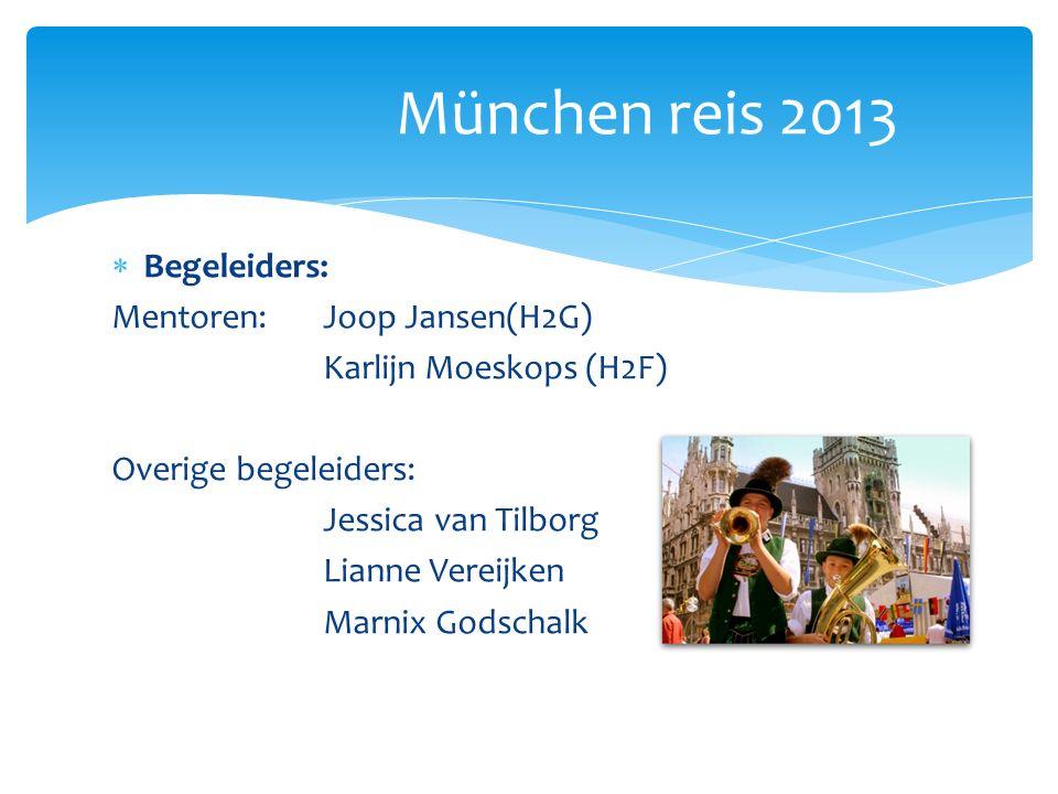 Naar München: 25 februari Verzamelen voor bustransfer: 6:20 !!.