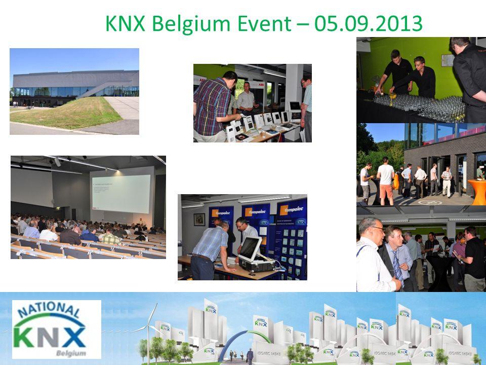 KNX Belgium Event – 05.09.2013