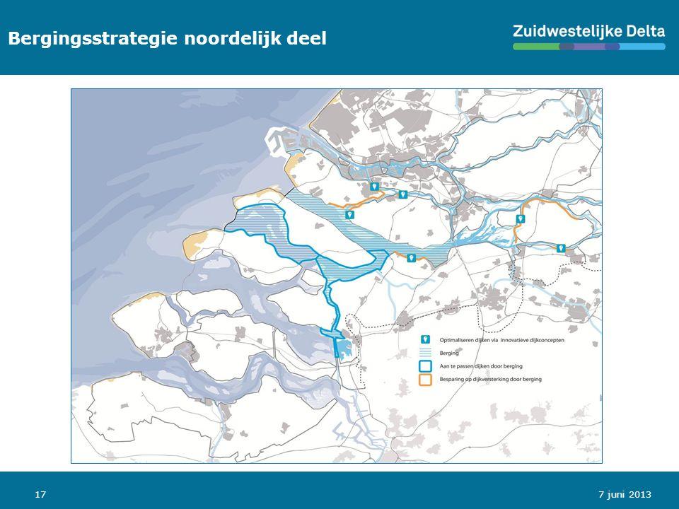 177 juni 2013 Bergingsstrategie noordelijk deel