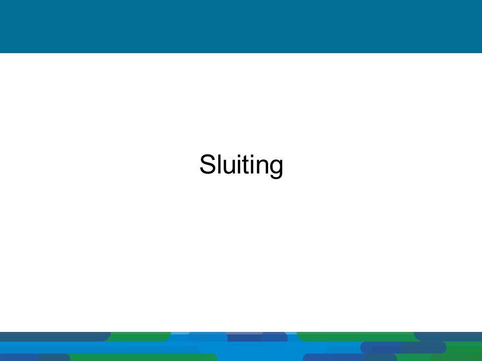 Sluiting 51