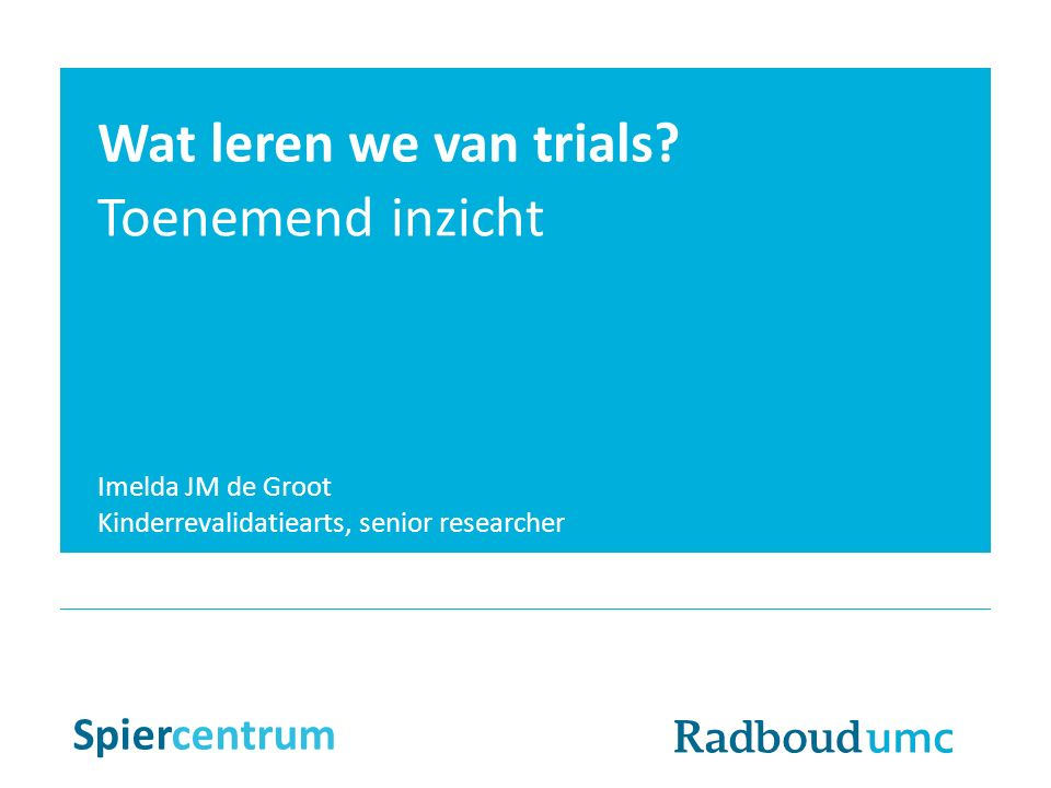 Ataluren placebo groep: begin afstand 6MWT