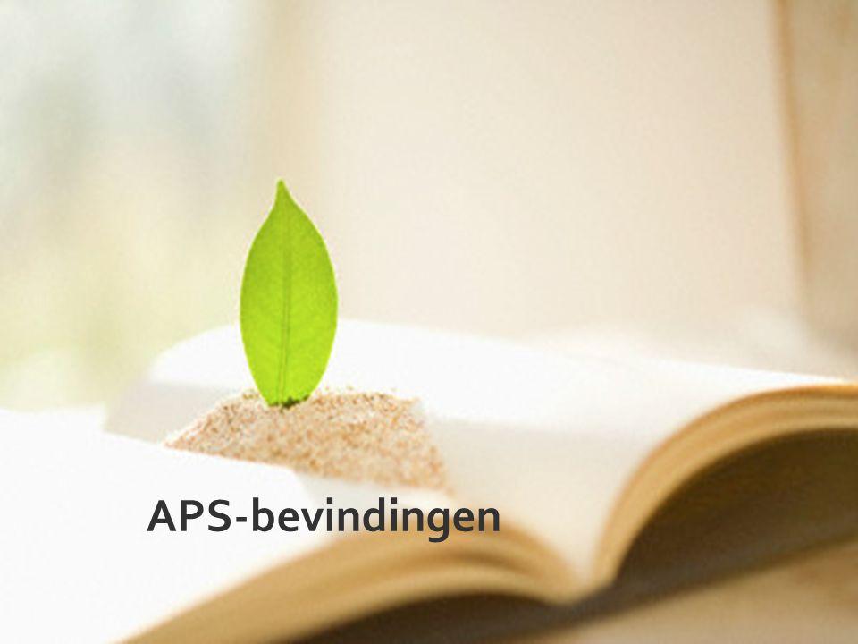 APS-bevindingen
