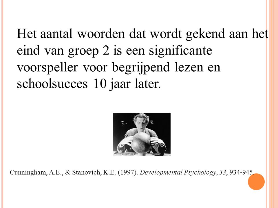 De 45 miljoen woorden kloof !! (Hart & Risley, 1995)