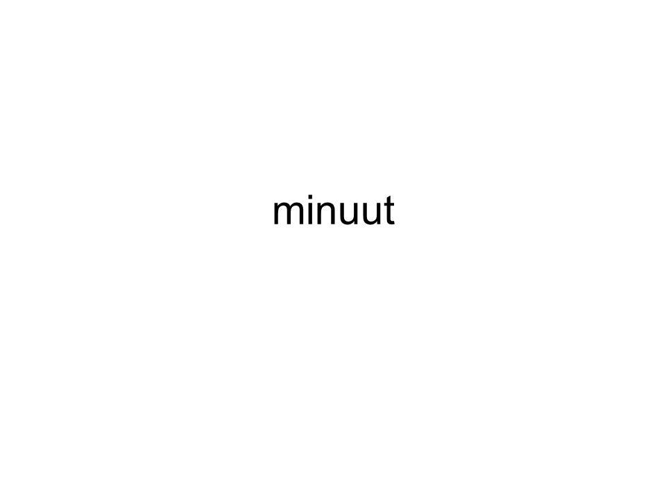 minuut