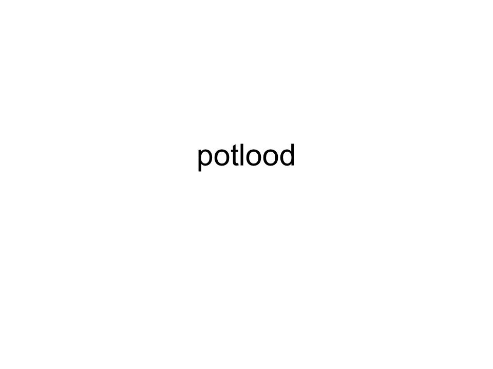 potlood
