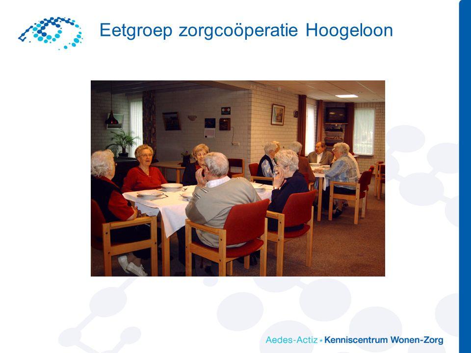 Eetgroep zorgcoöperatie Hoogeloon