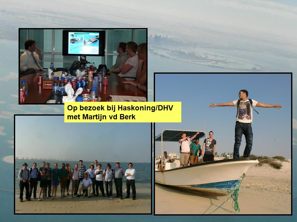 Op bezoek bij Haskoning/DHV met Martijn vd Berk