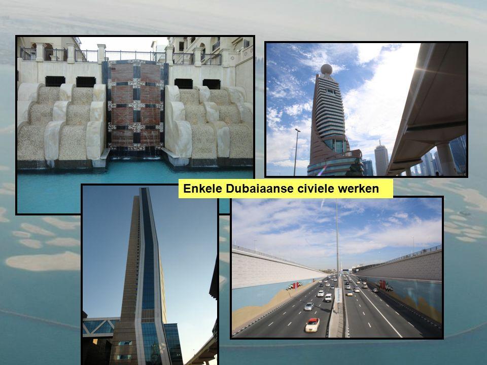 Enkele Dubaiaanse civiele werken