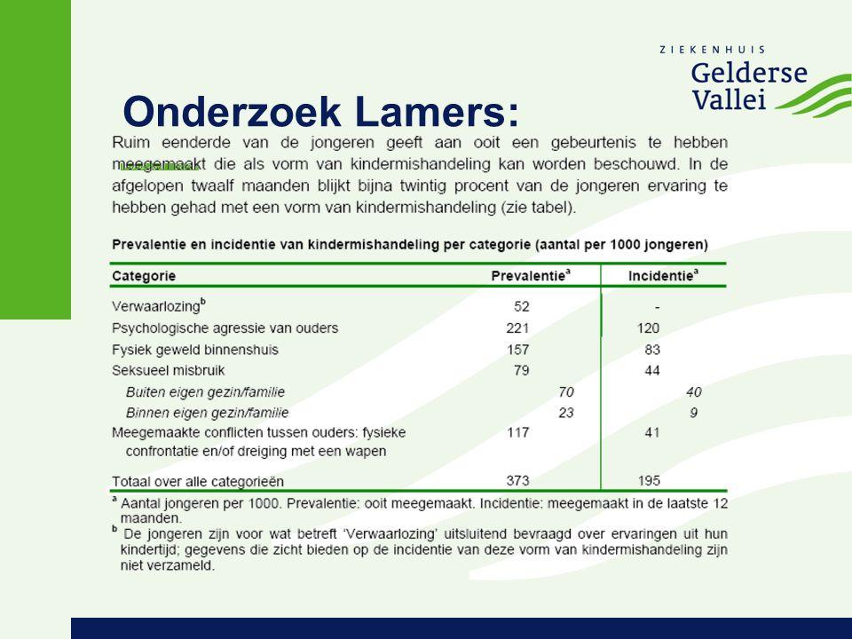 Onderzoek Lamers: