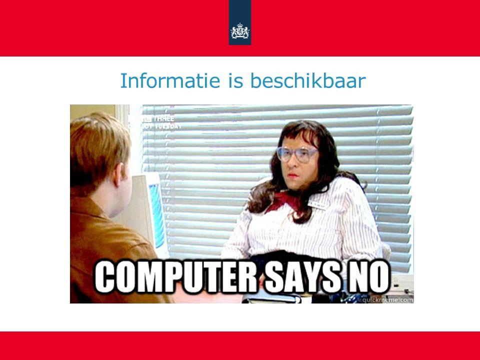 Informatie is interpreteerbaar