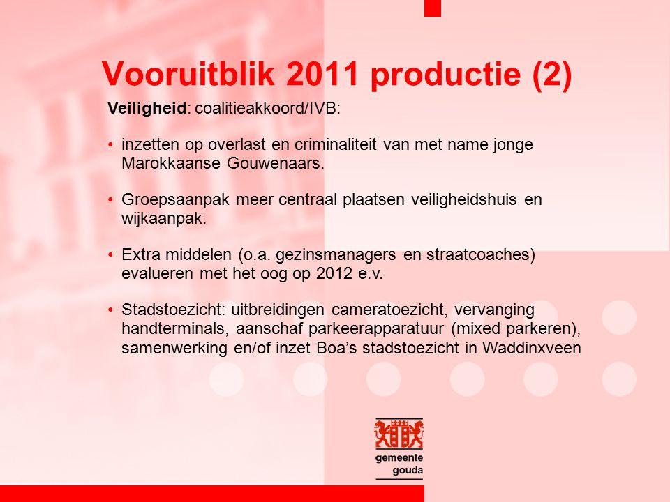 Veiligheid: coalitieakkoord/IVB: inzetten op overlast en criminaliteit van met name jonge Marokkaanse Gouwenaars.
