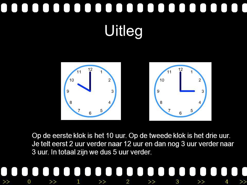 >>0 >>1 >> 2 >> 3 >> 4 >> Hoeveel tijd is er verstreken?