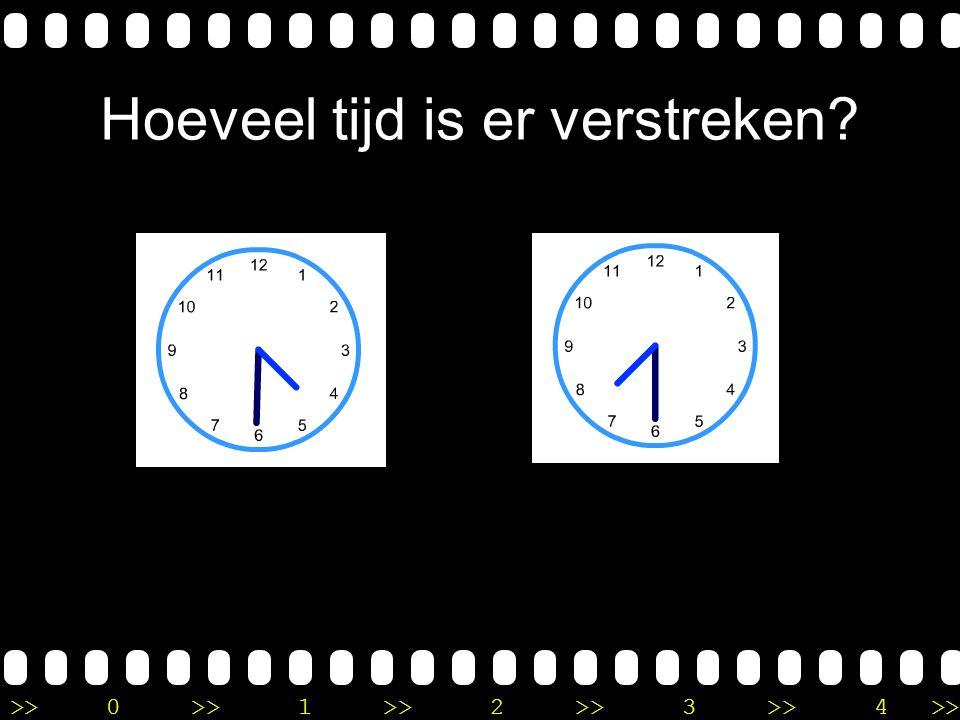 >>0 >>1 >> 2 >> 3 >> 4 >> Uitleg Je telt eerst 4 uur verder tot 12 uur. Daarna moet je nog 2 uur verder tellen tot 2 uur. In totasl is er dus 6 uur ve