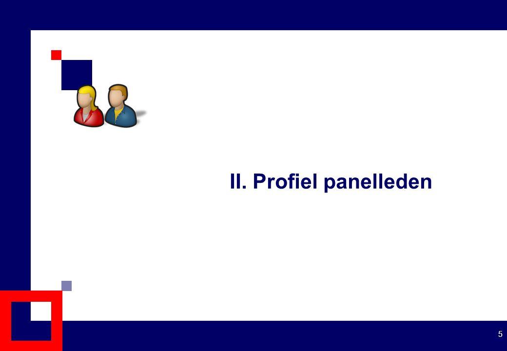II. Profiel panelleden 5