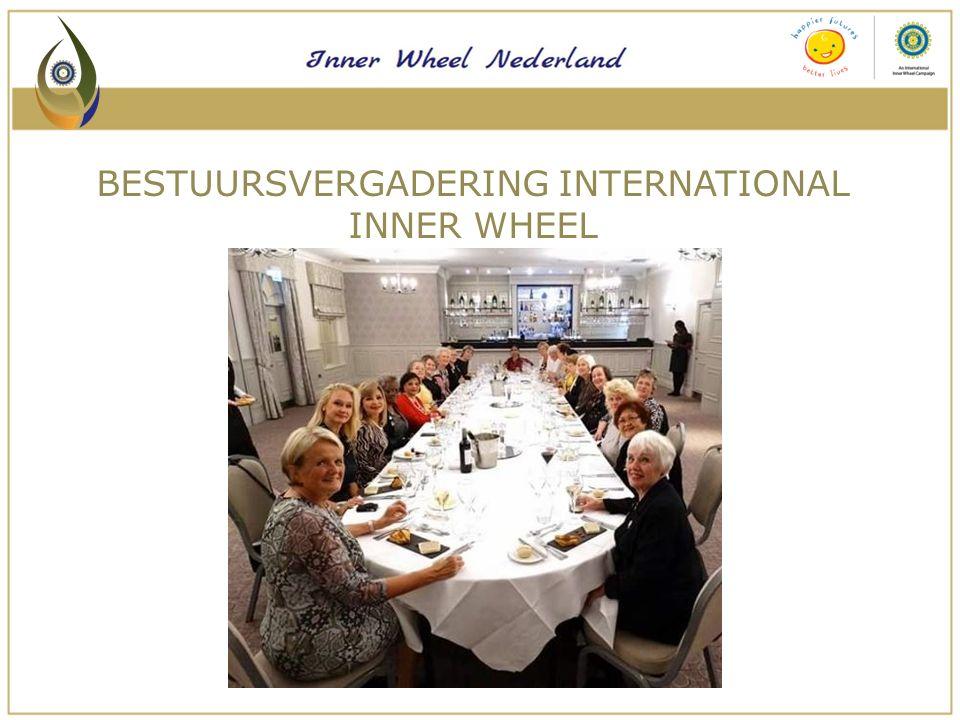 Een serviceclub die staat voor:  Het bevorderen van vriendschap  Het werven van fondsen  Internationale contacten DOELSTELLING INNER WHEEL NEDERLAND