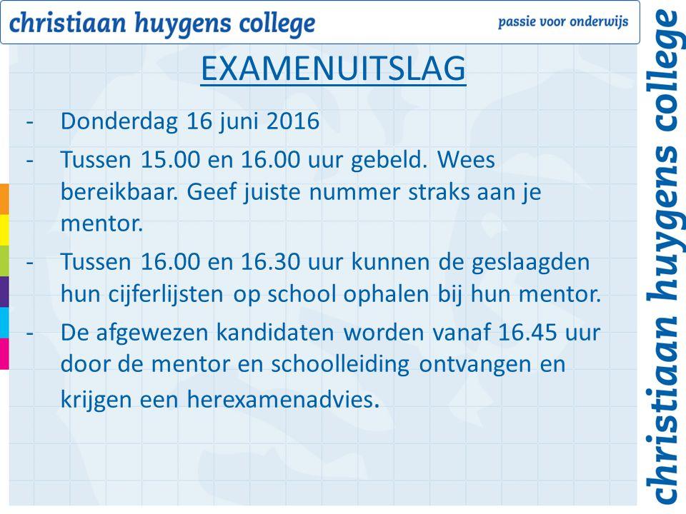 -Donderdag 16 juni 2016 -Tussen 15.00 en 16.00 uur gebeld.