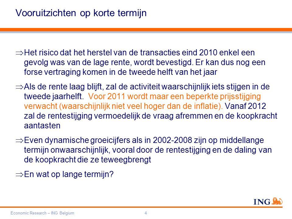 Do not put content on the brand signature area Orange RGB= 255,102,000 Light blue RGB= 180,195,225 Dark blue RGB= 000,000,102 Grey RGB= 150,150,150 ING colour balance Guideline www.ing-presentations.intranet Economic Research – ING Belgium35 Hoe aanpakken.