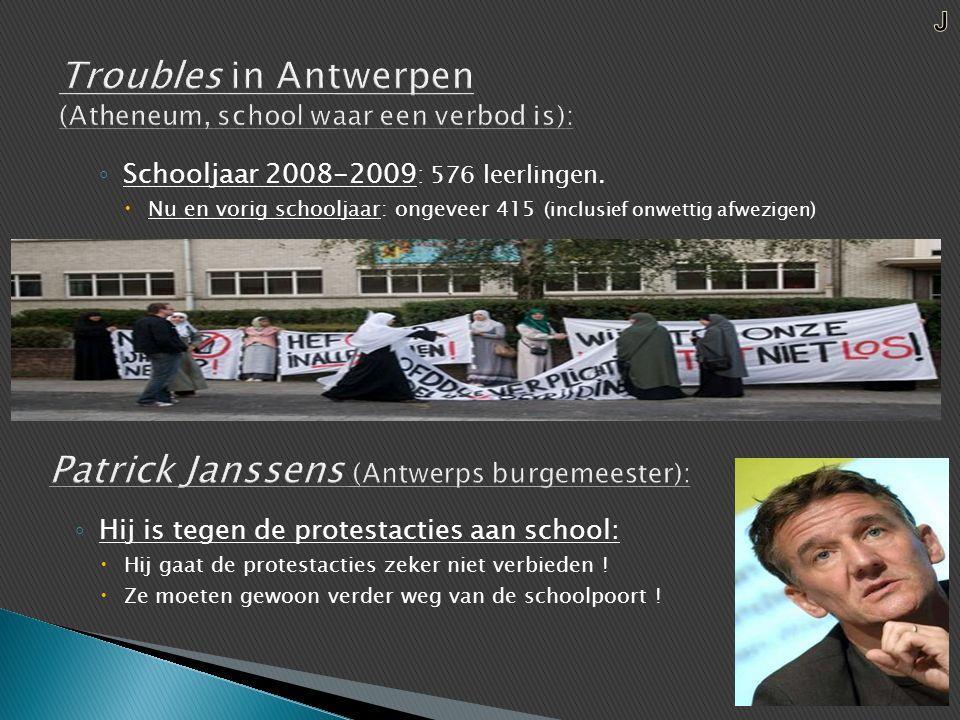 ◦ Schooljaar 2008-2009 : 576 leerlingen.