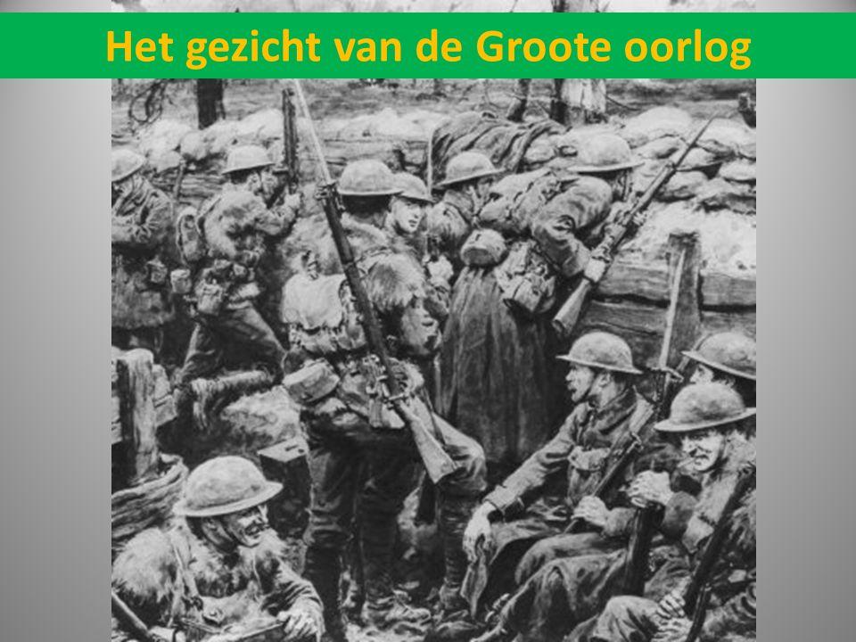 Het gezicht van de Groote oorlog