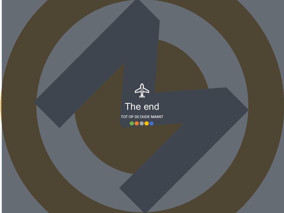 TOT OP DE OUDE MARKT The end