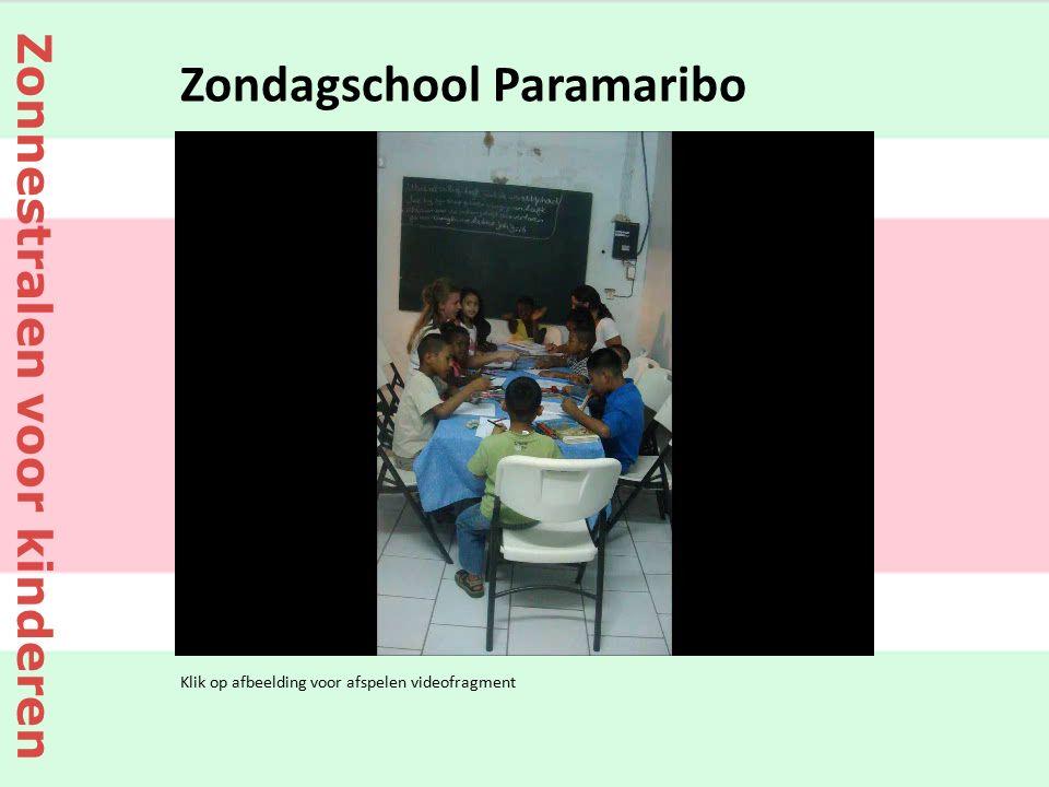 Klik op afbeelding voor afspelen videofragment Zondagschool Paramaribo