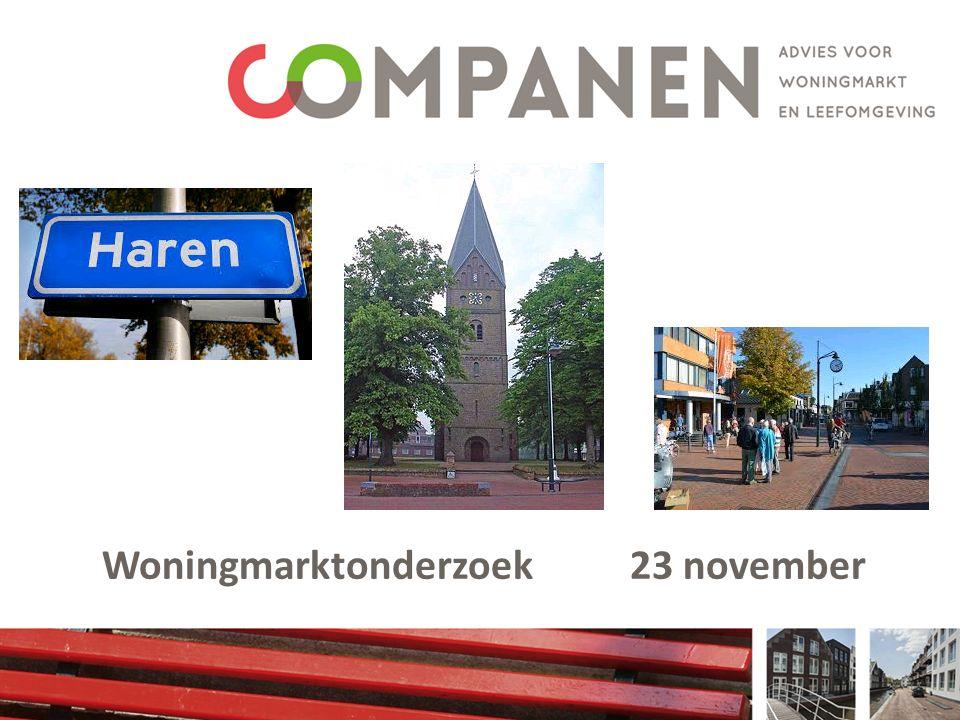 Woningmarktonderzoek 23 november
